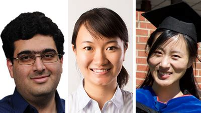 Council Of Graduate Schools Proquest Distinguished Dissertation Award by Three College Of Engineering Alumni Selected As