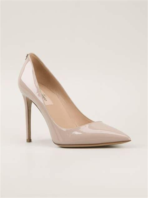 High Heels Valentino valentino high heel pumps in beige pink purple lyst