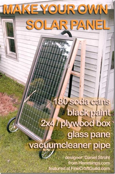how to make heating solar panels