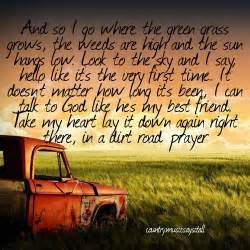 Country Song Inspirational Country Quotes Quotesgram