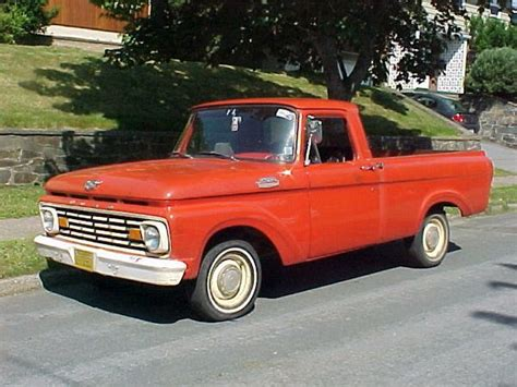 Ford Unibody Truck by 1963 Ford F100 Unibody Shortbox Ford Truck Enthusiasts