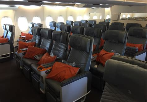 Premium Cabin by Singapore Airlines Premium Economy To Delhi On An A380