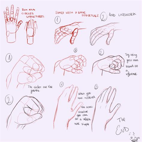 how to draw hands 35 tutorials how tos step by steps hands tutorial edit by souortiz on deviantart