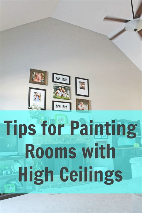 How to Paint a Room with High Ceilings   A Turtle's Life for Me