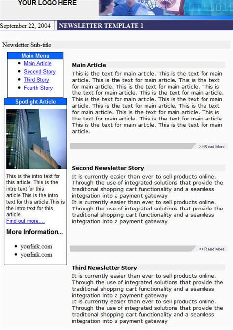 newsletter template software email marketing software newsletter templates