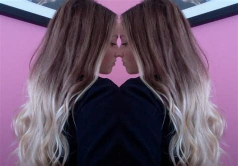 blonde colours ombre hair ombre