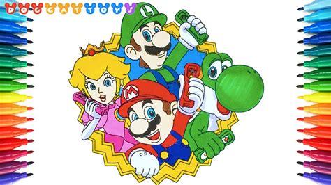 Mario Bros Drawings