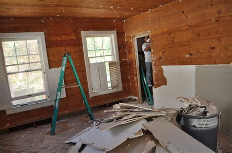 Shiplap Homes Most Of The House Had 1 2 Quot Drywall The Original Ship