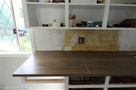 how to install a countertop without cabinets how to install new countertops on old cabinets the happy