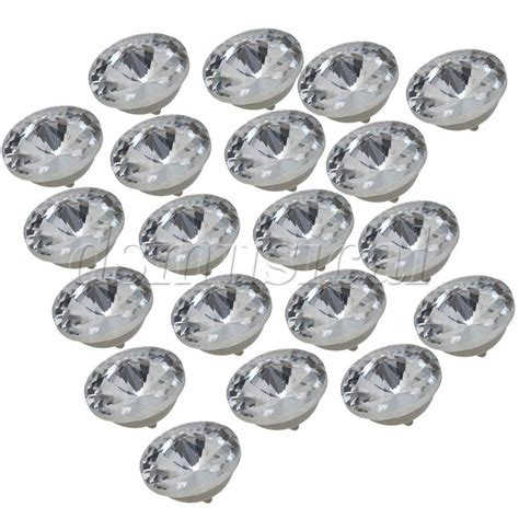 Upholstery Buttons by 20pcs 18mm Dia Diy Rhinestone Sew On Upholstery