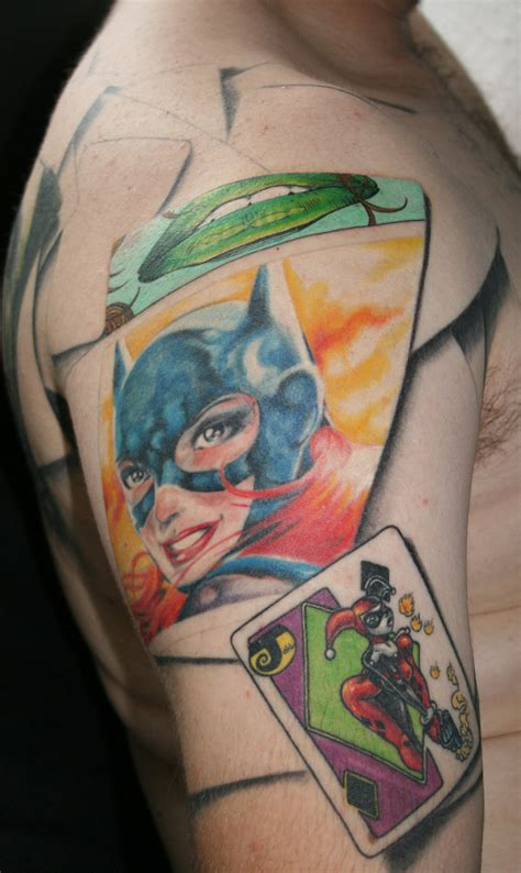 batman tattoo deviantart batman sleeve tattoo by carlyshephard on deviantart