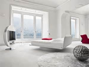Bedroom Design White Bed Leather Bed For White Bedroom Design Giotto By Bonaldo