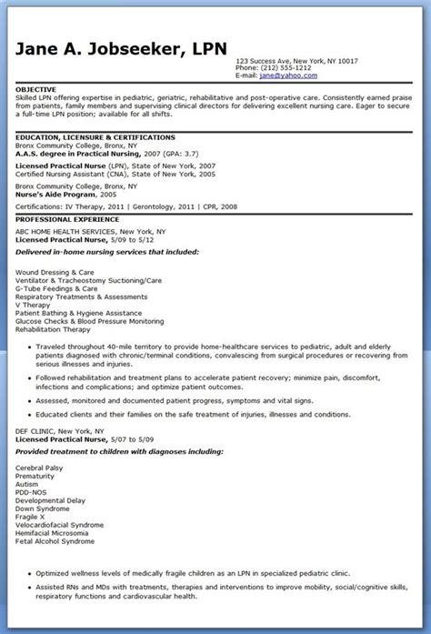 licensed practical nurse resume samples pics tomyumtumweb com