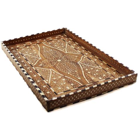 home decor tray vine decorative bone inlay wood tray roomattic