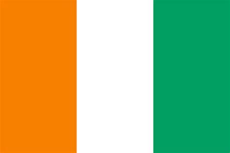 G Ci Flag elfenbenskysten verdens flagg