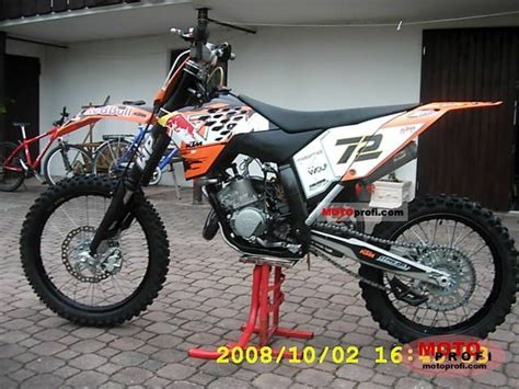 2008 Ktm 125sx Ktm 125 Sx 2008 Specs And Photos