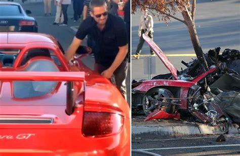 porsche blames driver in fatal paul walker car crash ny paul walker car crash former racing driver roger rodas