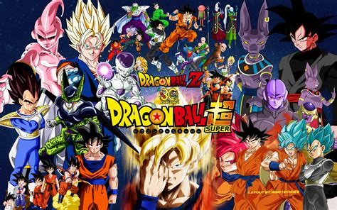 wallpaper dragon ball z super dragon ball z and super wallpaper 1 by windyechoes on