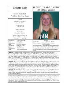 Softball Player Profile Template by Best Photos Of Printable Softball Player Profile Sle