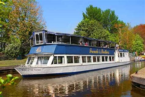 river thames boat hire bray french brothers boat trips sunday lunch cruise book online
