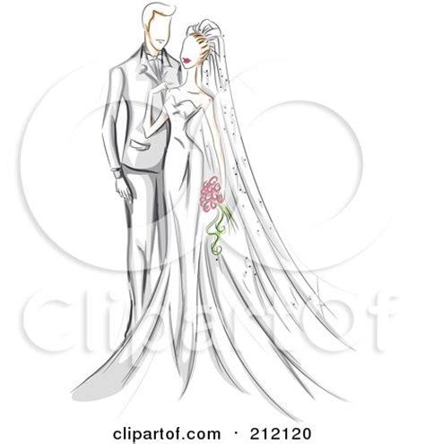 royalty free rf wedding clipart illustrations vector
