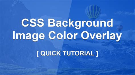 css remove background color css background image color overlay css color overlay