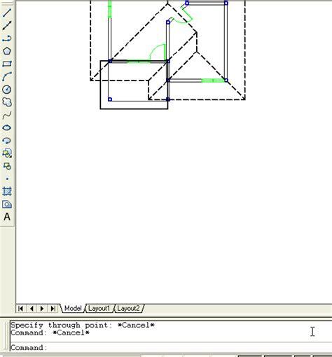 tutorial desain rumah  autocad  hontoh