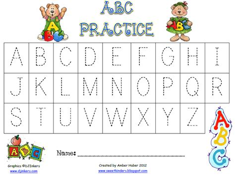Learning The Alphabet Worksheets by Common Worksheets 187 Abc Writing Sheet Preschool And