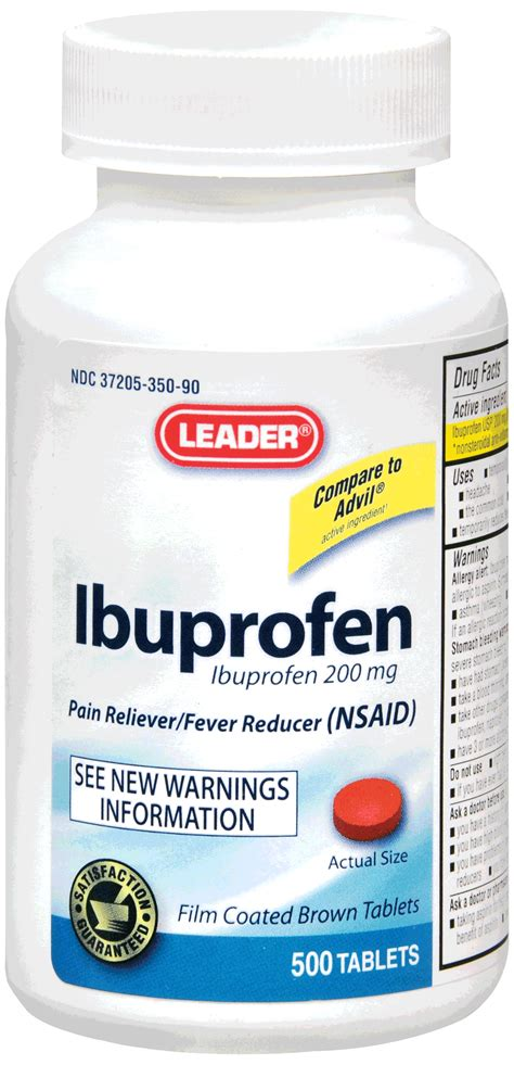 Proris Ibuprofen Capsul Ready leader ibuprofen caplets 500 count ready supply