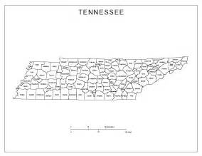 Tennessee Map Counties tennessee labeled map