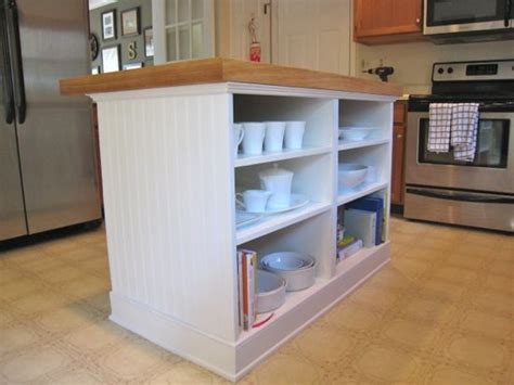 Open Base Cabinets Kitchen Diy Island W Two Basic Base Cabinets At Ikea With