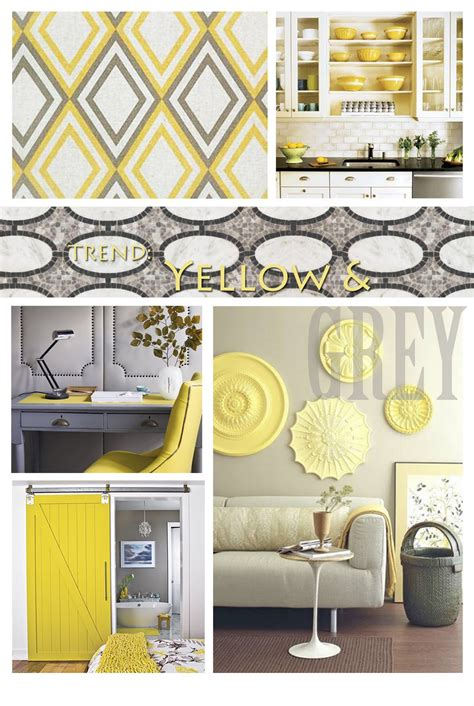Yellow And Gray Home Decor by Sincerely Your Designs Decorating With Yellow And Grey