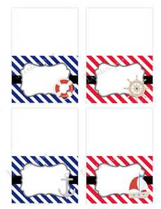 nautical themed names printable nautical themed blank food labels instant