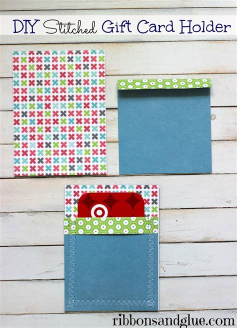 How To Make A Gift Card Holder With Paper - easy treat jar and gift card set