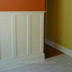 Bathroom Wainscoting Height - how to install tall wainscoting 100 for about 10 33 ft the joy of moldings com