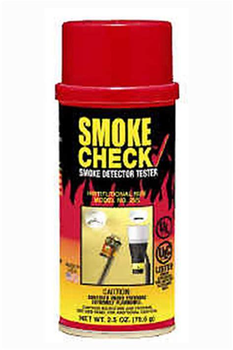 Smoke Check Hsi Smoke Check Tester Hsi home safeguard smoke check