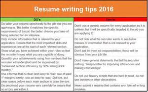 resume writing tips do s don ts resume writing malaysia