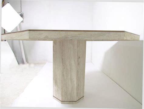 Travertine Marble Dining Table Italian Travertine Marble Octagonal Dining Table By Roche Bobois At 1stdibs