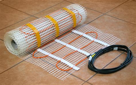 Tile Heat Mat by New Electric Radiant Floor Heat Products From Floorheat