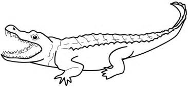 Coloriage A Imprimer Crocodile Gratuit Et Colorier sketch template