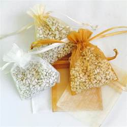 bird seed wedding favors 100 wedding favor bird seed bags your choice of color
