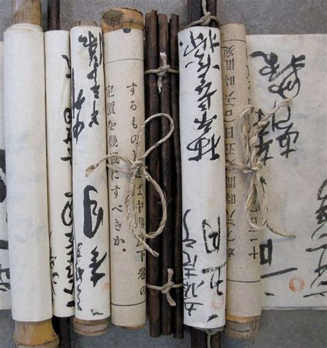 Handmade Scrolls - japanese made scrolls photo by dwatsonartist via