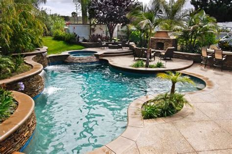 Backyard Landscaping With Pool by Swimming Pool Capistrano Ca Photo Gallery Landscaping Network