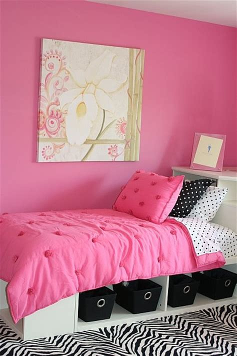habitaciones juveniles rosa negro y cebra imagui cortinas para habitaciones de adolescentes imagui