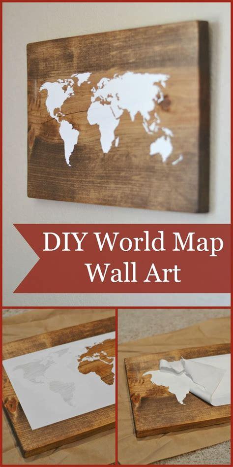 diy world map wall decor diy world map wall on wood diy decor