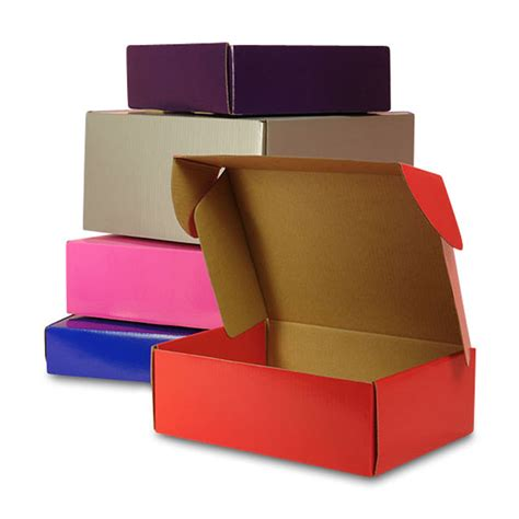 best boxes colored tuck top corrugated shipping boxes
