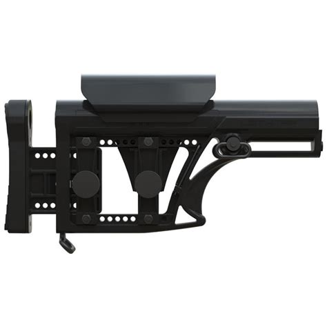 Luth Ar Mba Fixed by Luth Ar Quot Mba Quot Modular Fixed Buttstock Black