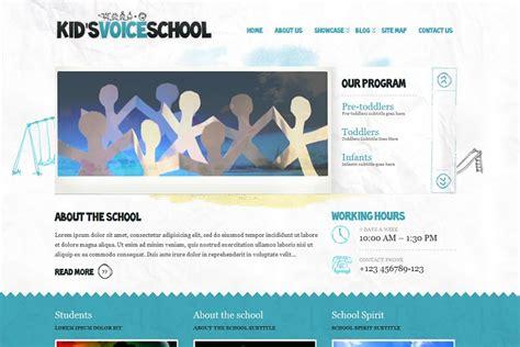 themeforest voice kids voice school wordpress theme from themeforest