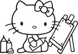 free kitty coloring pages image 6 gianfreda net