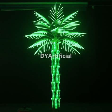 Artificial Plant Decoration Home 3 Meters Artificial Green Led Lighted Palm Trees Dongyi